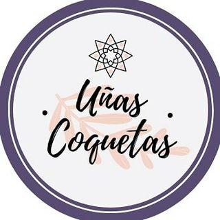 Logo de Uñas Coquetas- Stamping Shop🇨🇴