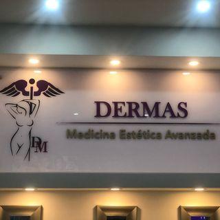 Logo de DERMAS Medicina Avanzada.