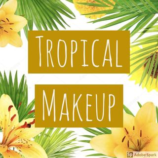 Logo de Tropical makeup 💛