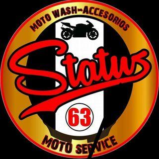 Logo de Status 63 Moto Lavado