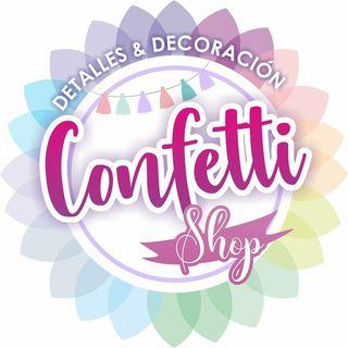 Logo de confetti shop