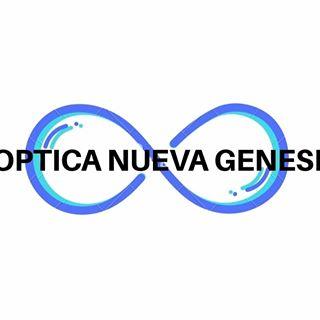 Logo de optica nueva génesi