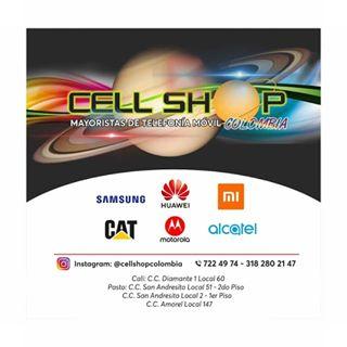 Logo de Cell Shop Colombia