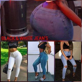 Logo de BLACK AND WHITE JEAN'S ( B&W)