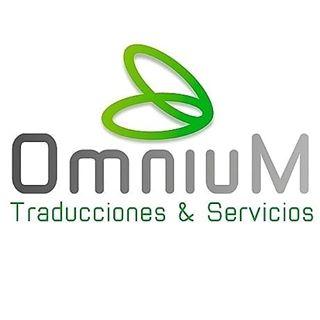 Logo de omnium traducciones