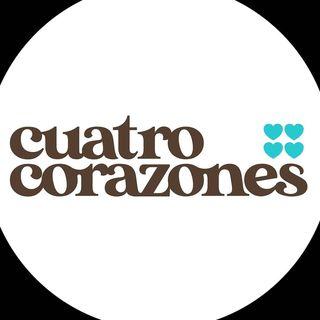 Logo de Cuatro Corazones Repostería