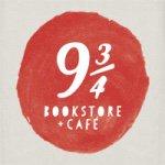 Logo de 9 3/4 Bookstore + Cafe