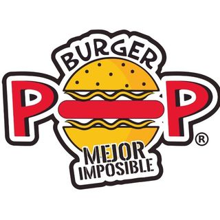 Logo de Hamburguesas Burger POP
