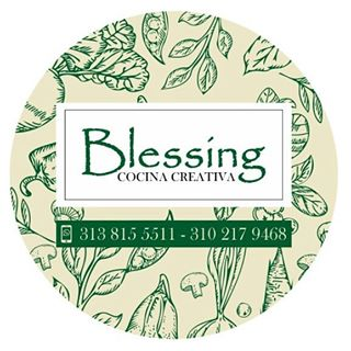 Logo de Blessing Cocina Creativa