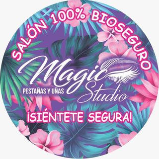 Logo de Magic Studio Pestañas y Uñas