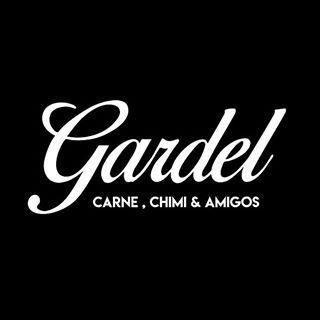 Logo de Gardel Carne, chimi & amigos