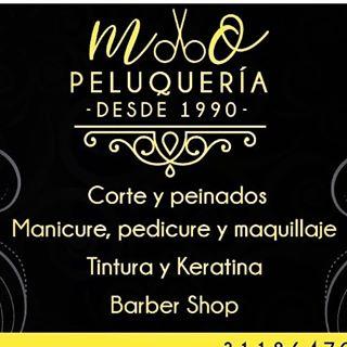 Logo de M.O PELUQUERIA