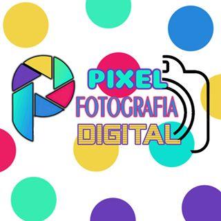 Logo de fotografia pixel