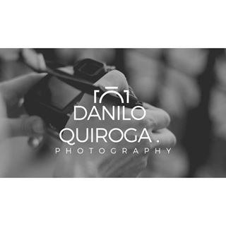 Logo de Danilo Quiroga Fotógrafo.