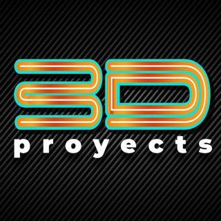 Logo de 3D Proyects