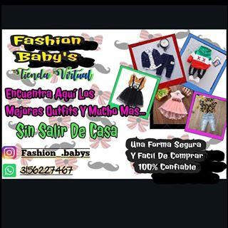 Logo de @fashion_.baby's y adultos