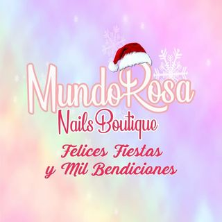 Logo de Mundo Rosa Nails Boutique