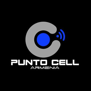 Logo de Punto Cell Armenia 🖤💙