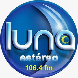 Logo de Emisora Luna Estereo 106.4FM