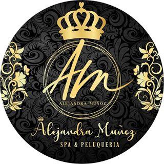 Logo de ALEJANDRA MUÑOZ hair & Nails