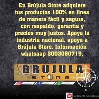 Logo de Brújula Store