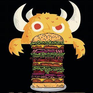 Logo de Locos x las hamburguesas ®
