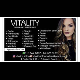 Logo de vitality salon