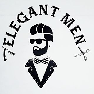 Logo de Elegant Men 💈✂️💈✂️💈✂️