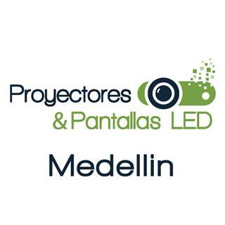 Logo de Proyectores y Pantallas LED