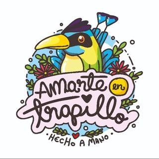Logo de 𝘼𝙢𝙖𝙧𝙩𝙚 𝙚𝙣 𝙩𝙧𝙖𝙥𝙞𝙡𝙡𝙤🐦