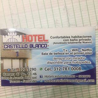 Logo de Hotel Castelloblanco-Socorro