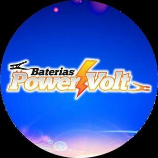 Logo de Baterías POWER VOLT