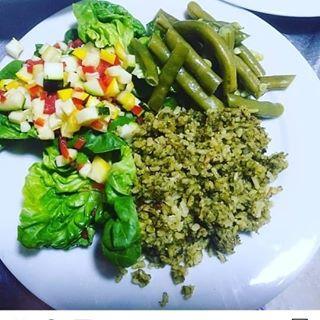 Logo de comida saludable