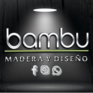 Logo de Bambu Madera y Diseño