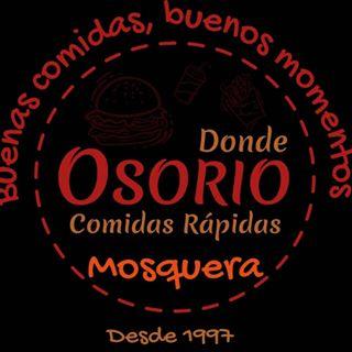 Logo de Donde Osorio Comidas Rápidas