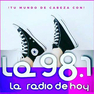 Logo de La 98.7 Radio