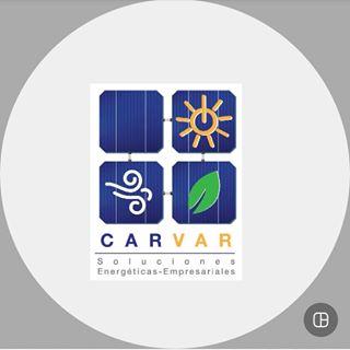 Logo de carvar-energía solar y eólica