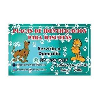 Logo de PLACAS PARA MASCOTAS TULUA
