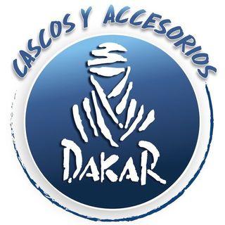 Logo de cascos y accesorios dakar