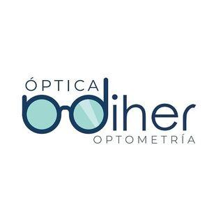 Logo de Óptica Diher