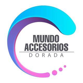 Logo de Mundo Accesorios Dorada