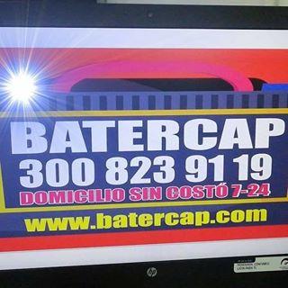 Logo de Batercap venta de baterias