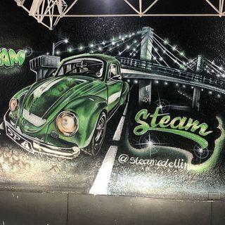 Logo de Steam Spa Automotriz