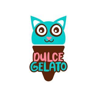Logo de Heladerías Dulce Gelato 🍦💛