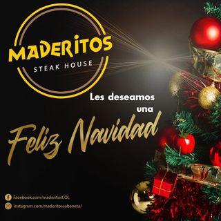 Logo de Maderitos Steak House 🍻🍴