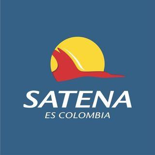 Logo de Aerolinea SATENA