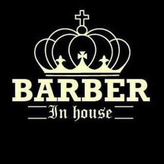 Logo de 👑B A R B E R  IN  H O U S E 👑