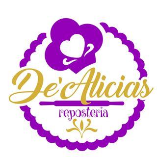 Logo de dealicias tortas y postres