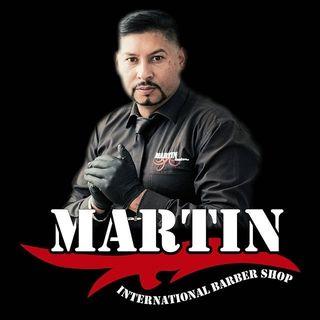 Logo de Martin Int Barber Shop
