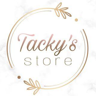 Logo de T A C K Y ' S  🥀